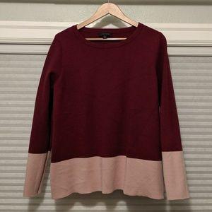 Ann Taylor Color Block Sweater
